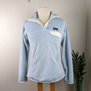 Patagonia Re-Tool Snap T Fleece Pullover Blue XS